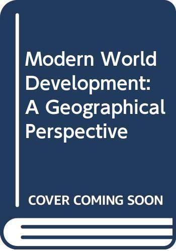 9780389203216: Modern World Development