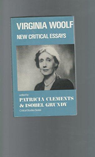 9780389203759: Virginia Woolf, New Critical Essays (Critical Studies Series)