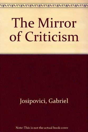 9780389203889: The Mirror of Criticism