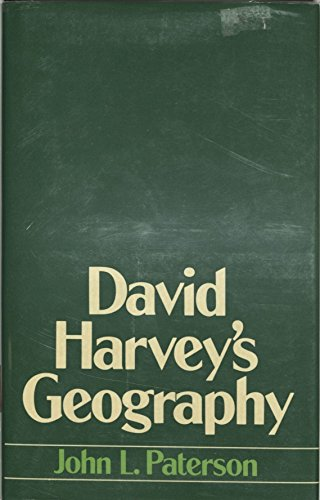 9780389204411: David Harvey's Geography (Croom Helm series in geography and environment)