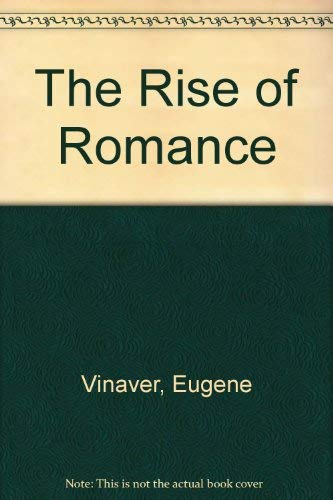 9780389204497: The Rise of Romance