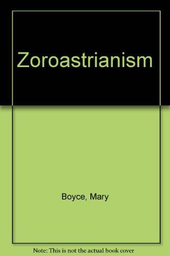 9780389204787: Zoroastrianism