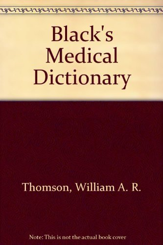9780389204961: Black's Medical Dictionary