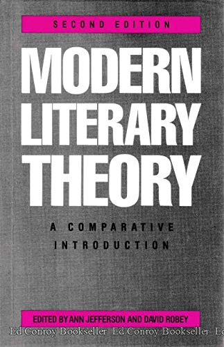 9780389206323: Modern Literary Theory: A Comparative Introduction
