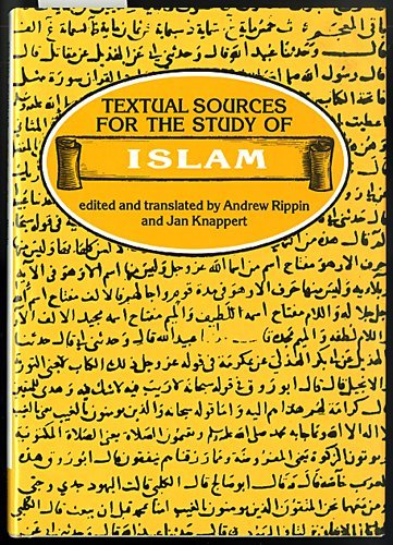 9780389206774: Textual Sources for the Study of Islam (Textual Sources for the Study of Religion)