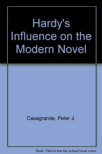 9780389206835: Hardy's Influence on the Modern Novel