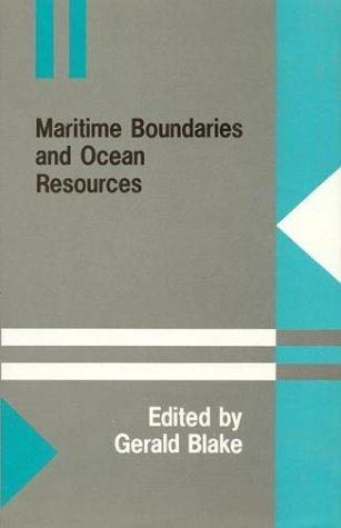 9780389207269: Maritime Boundaries and Ocean Resources