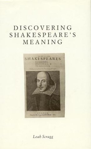 9780389207580: Discovering Shakespeare's Meaning