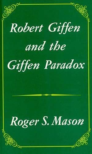 9780389208587: Robert Giffen and the Giffen Paradox