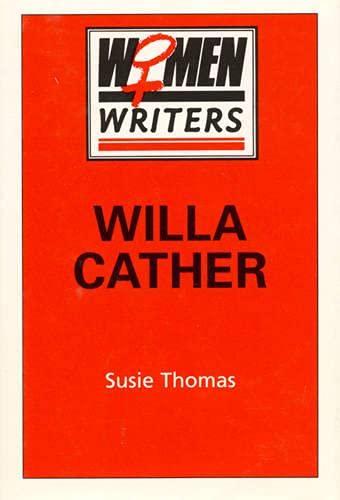 9780389208822: Willa Cather (Women Writers)