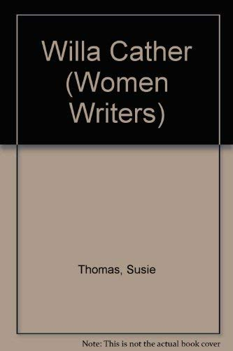 9780389208839: Willa Cather (Women Writers)
