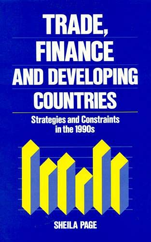 9780389208907: Trade, Finance and Developing Countries: Strategies and Constraints in the 1990's