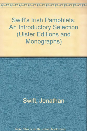 9780389209317: Swift's Irish Pamphlets: An Introductory Selection (ULSTER EDITIONS AND MONOGRAPHS)