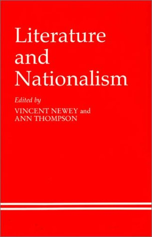9780389209546: Literature and Nationalism
