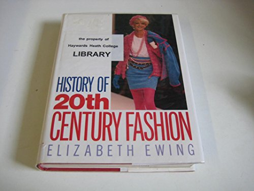 9780389209935: History of Twentieth Century Fashion