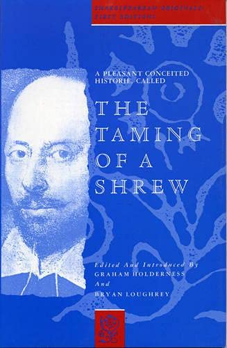 9780389209980: A Pleasant Conceited Historie, Called the Taming of a Shrew (Shakespearean Originals : First Editions)