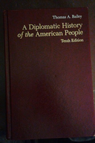 9780390050274: A diplomatic history of the American people