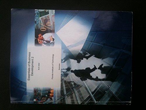 9780390095831: Essentials of Business Development 2, BUS 5602