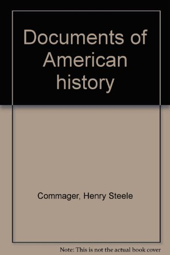 9780390203700: Documents of American history