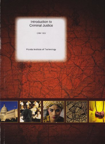 9780390222916: Introduction to Criminal Justice CRM 1000 (Custom Edition for Florida Institute of Technology)