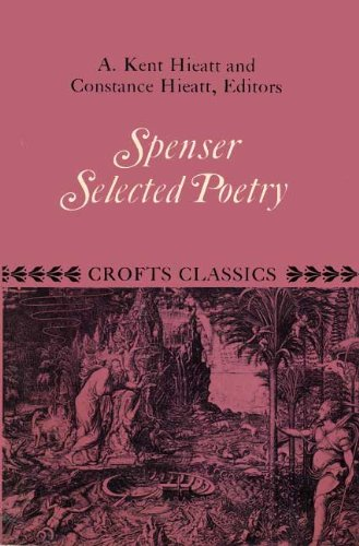 9780390240057: Selected poetry (Crofts classics)