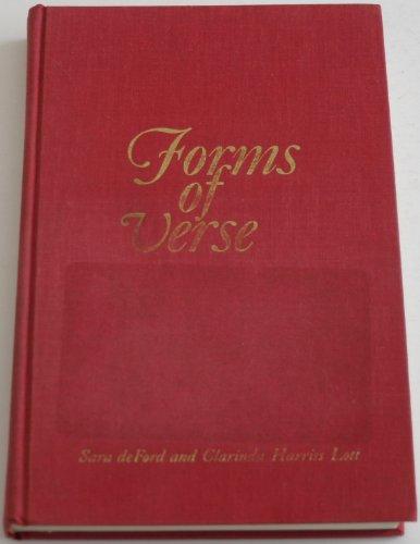 Forms of verse: British and American: Sara DeFord