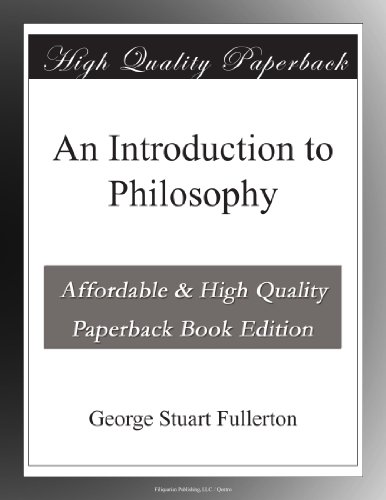 9780390274304: An Introduction to Philosophy
