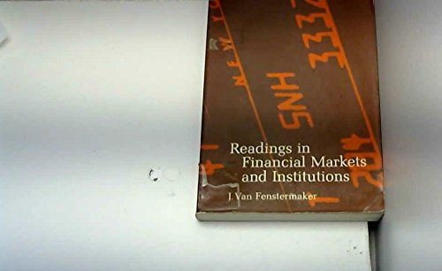 9780390309754: Readings in financial markets and institutions