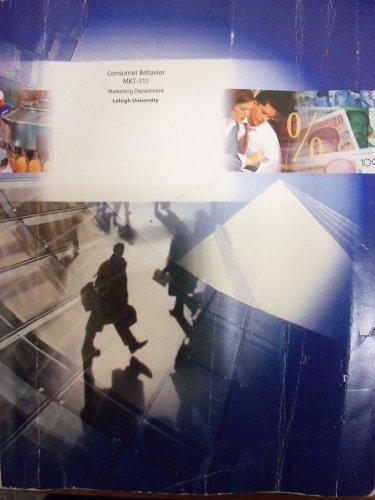 9780390320414: Consumer Behavior (Custom for MKT-311 Lehigh University)