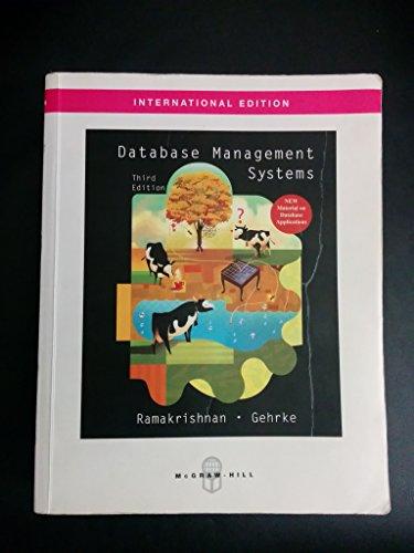 9780390329592: Database Management Systems