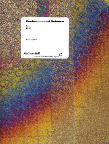 9780390459664: Environmental Science (Course: SCI 207) (Ashford University)