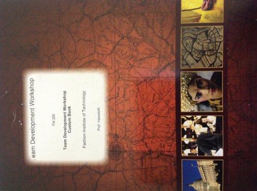 9780390687517: Team Development Workshop Custom Book (FM 268 Fashion Institute of Technology)