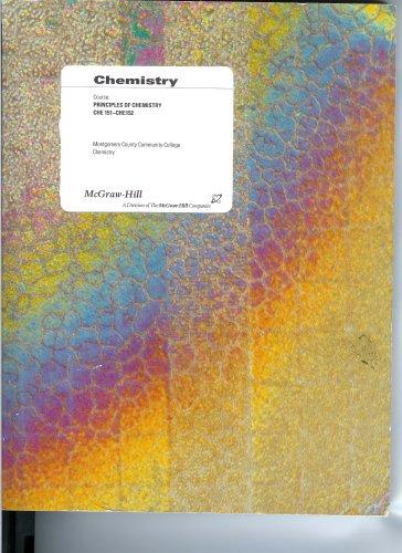 9780390709141: General Chemistry Manual - Montogomery County Community College