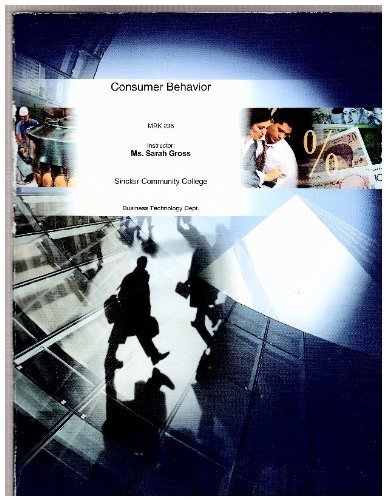 9780390738950: Marketing: Consumer Behavior, MRK 236, Sinclair Community College