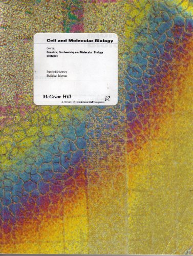 9780390768193: Cell and Molecular Biology
