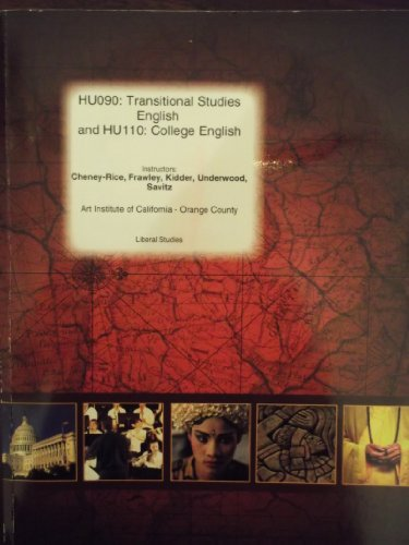 Hu090 Transitional Studies English and Hu110: College English- Art Institute of California- Orange ...