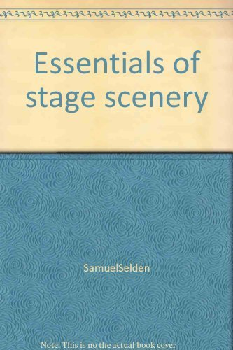 9780390793515: Essentials of stage scenery