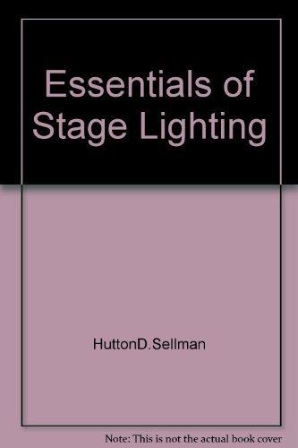 9780390795533: Essentials of stage lighting