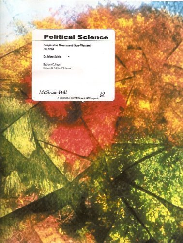 9780390811714: Political Science Custom (Comparative Government (Non-Western) POLS 352, Taken from Comparative Government: Political Structure & Diversity Across the Globe by Shively)