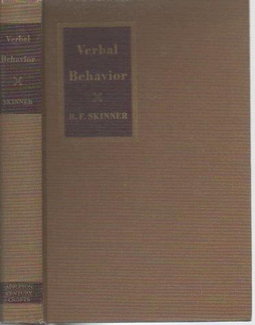9780390812957: Verbal Behavior.