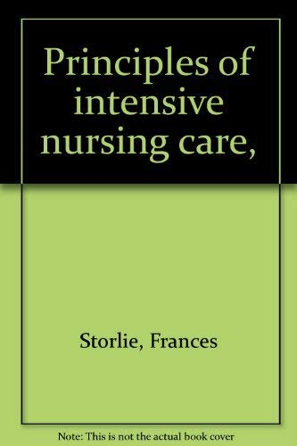9780390849168: Title: Principles of intensive nursing care