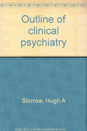 9780390850751: Outline of clinical psychiatry