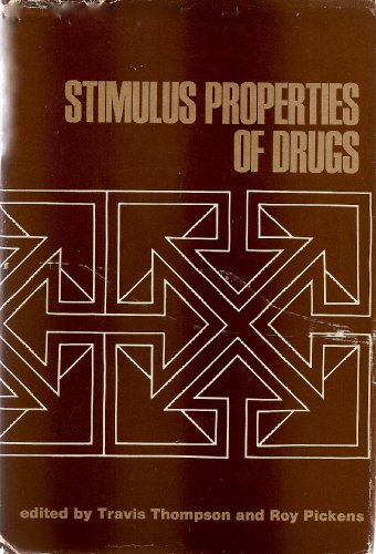 Stimulus properties of drugs: Travis Thompson