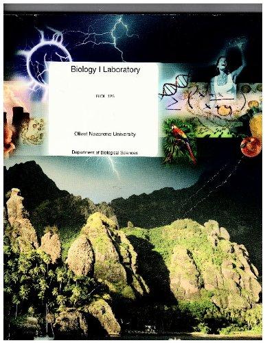 9780390911001: Biology I Laboratory Biol 125