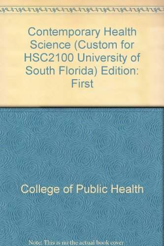 9780390931429: Contemporary Health Science (HSC 2100) (University of South Florida, College of Public Health)
