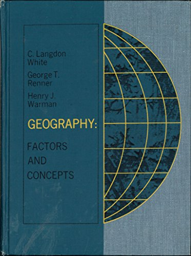 9780390934000: Geography: Factors and Concepts