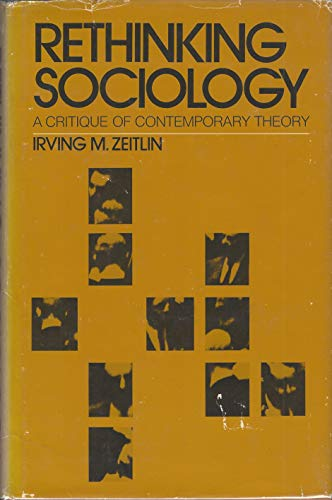 9780390970923: Rethinking Sociology: A Critique of Contemporary Theory