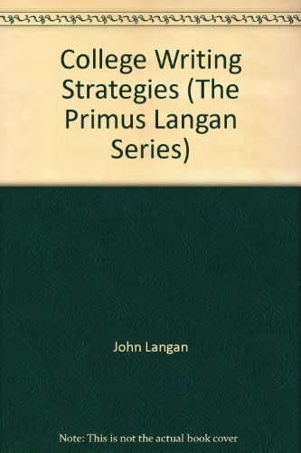 9780390970992: College Writing Strategies (The Primus Langan Series)