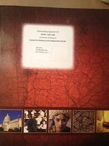 9780390985491: Elementary Spanish 1 and 2 Workbook