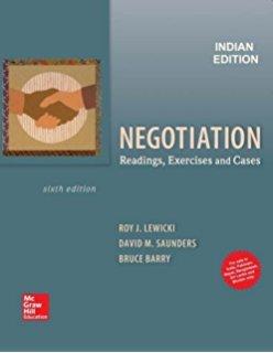 9780390993649: Essentials Of Negotiation (Custom)